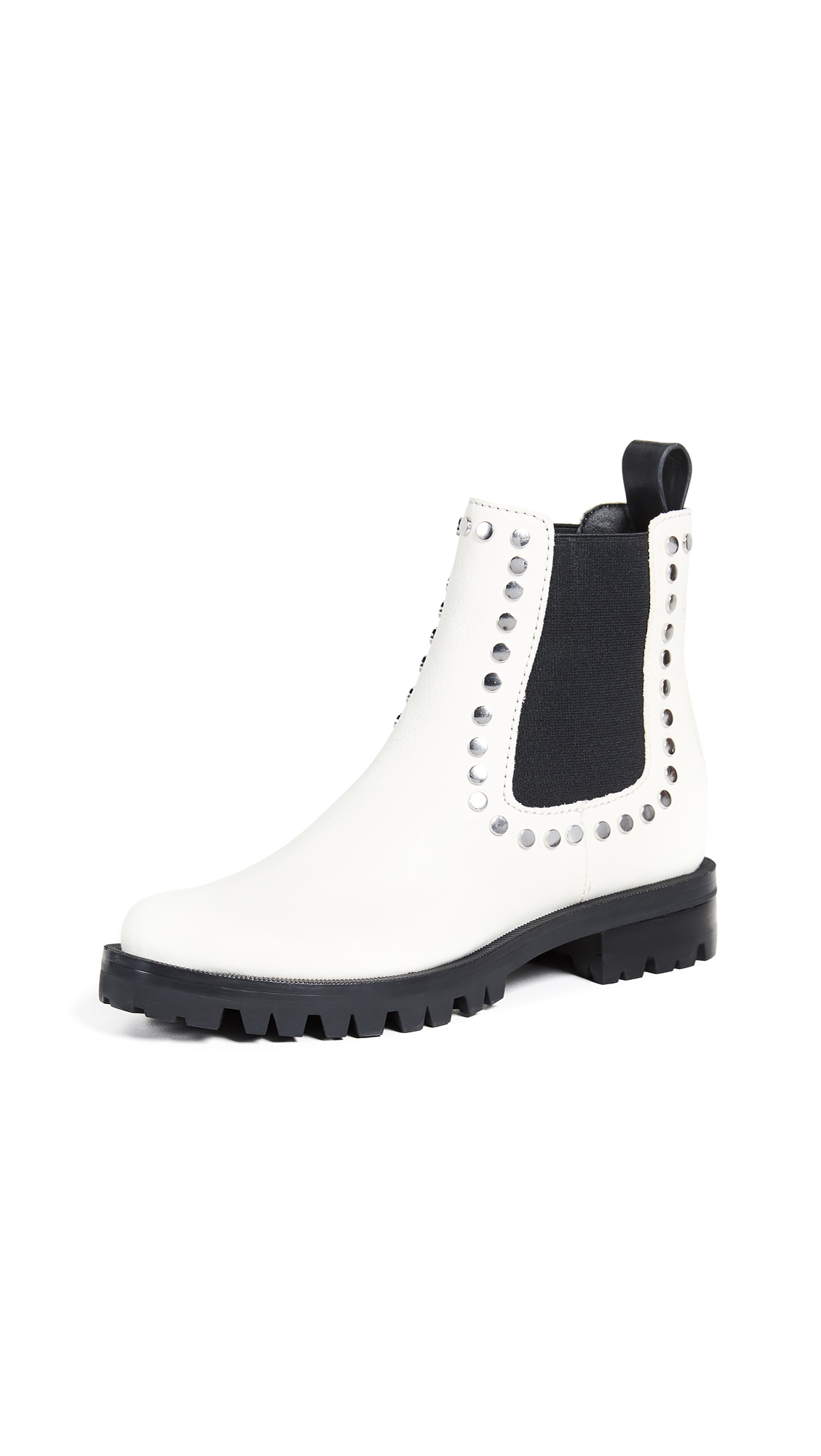 Dolce Vita Peton Chelsea Booties - Off White