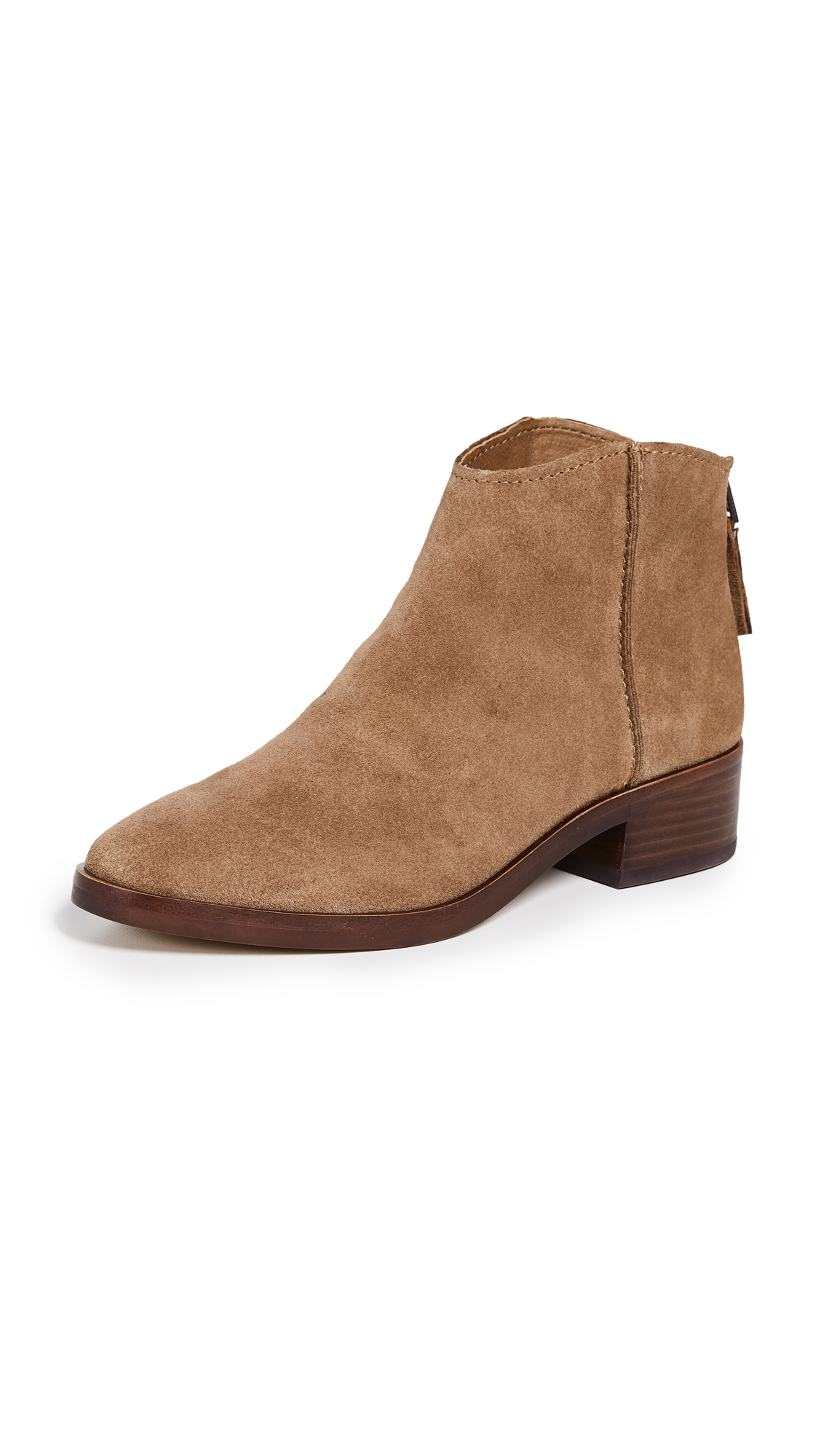 Dolce Vita Tucker Booties - Dark Saddle