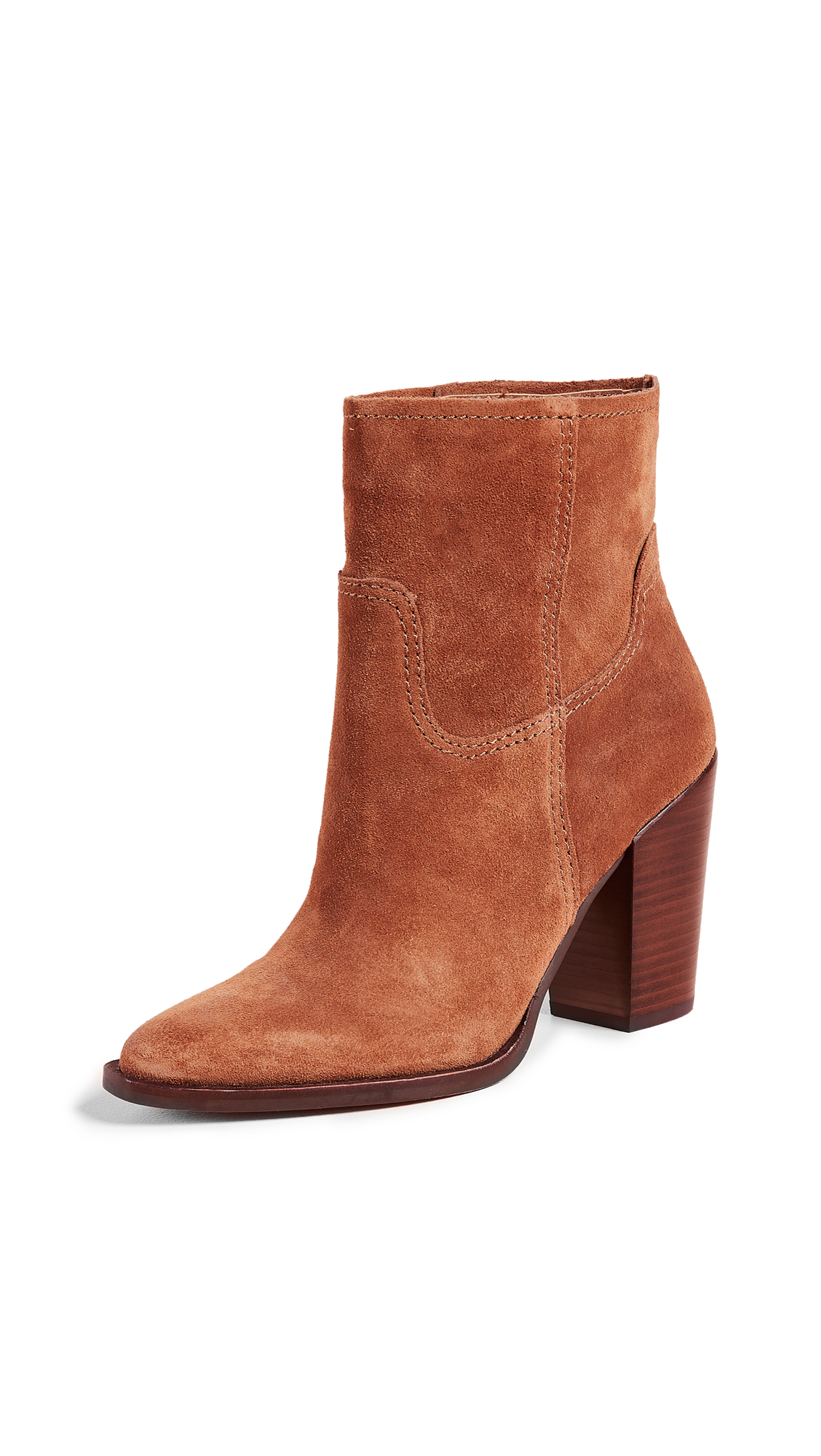 Dolce Vita Kelani Western Booties - Brown