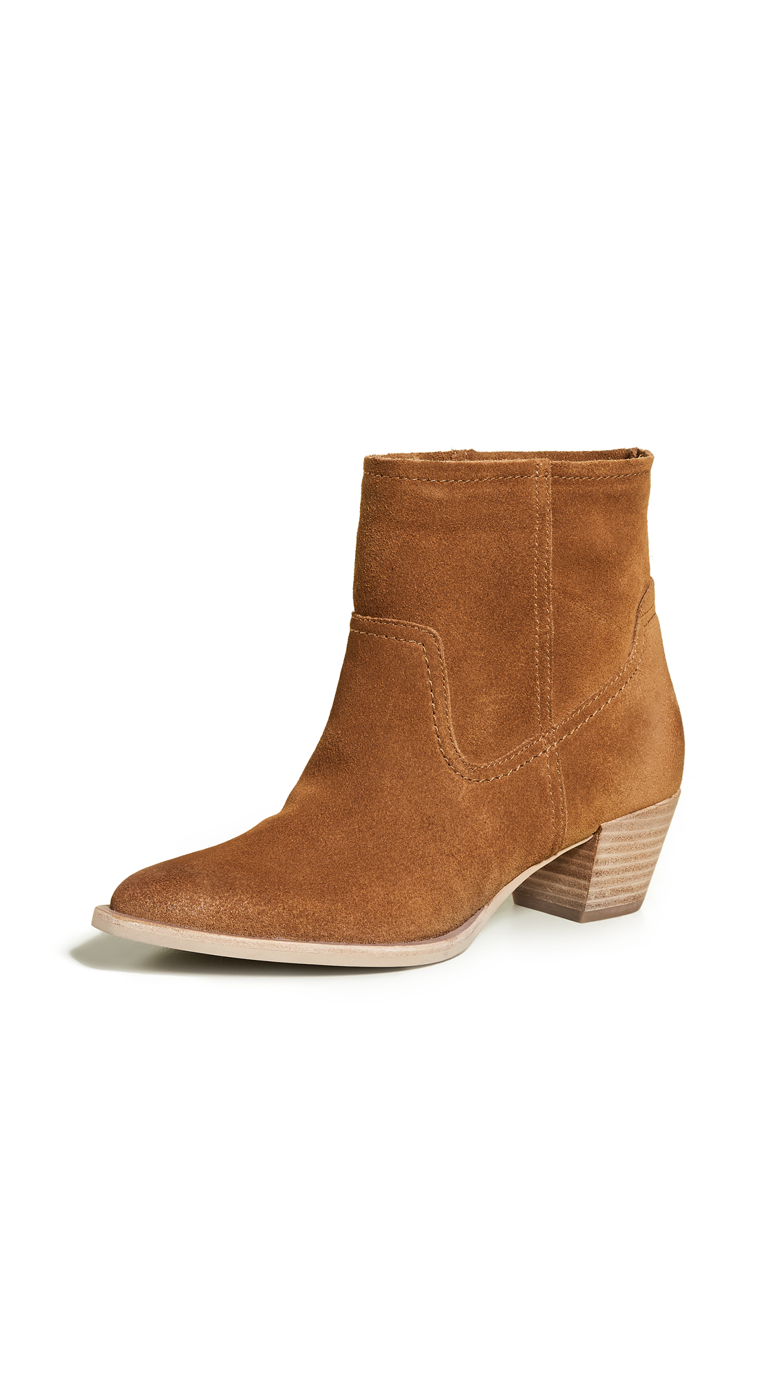 Dolce Vita Kodi Point Toe Boots - Saddle
