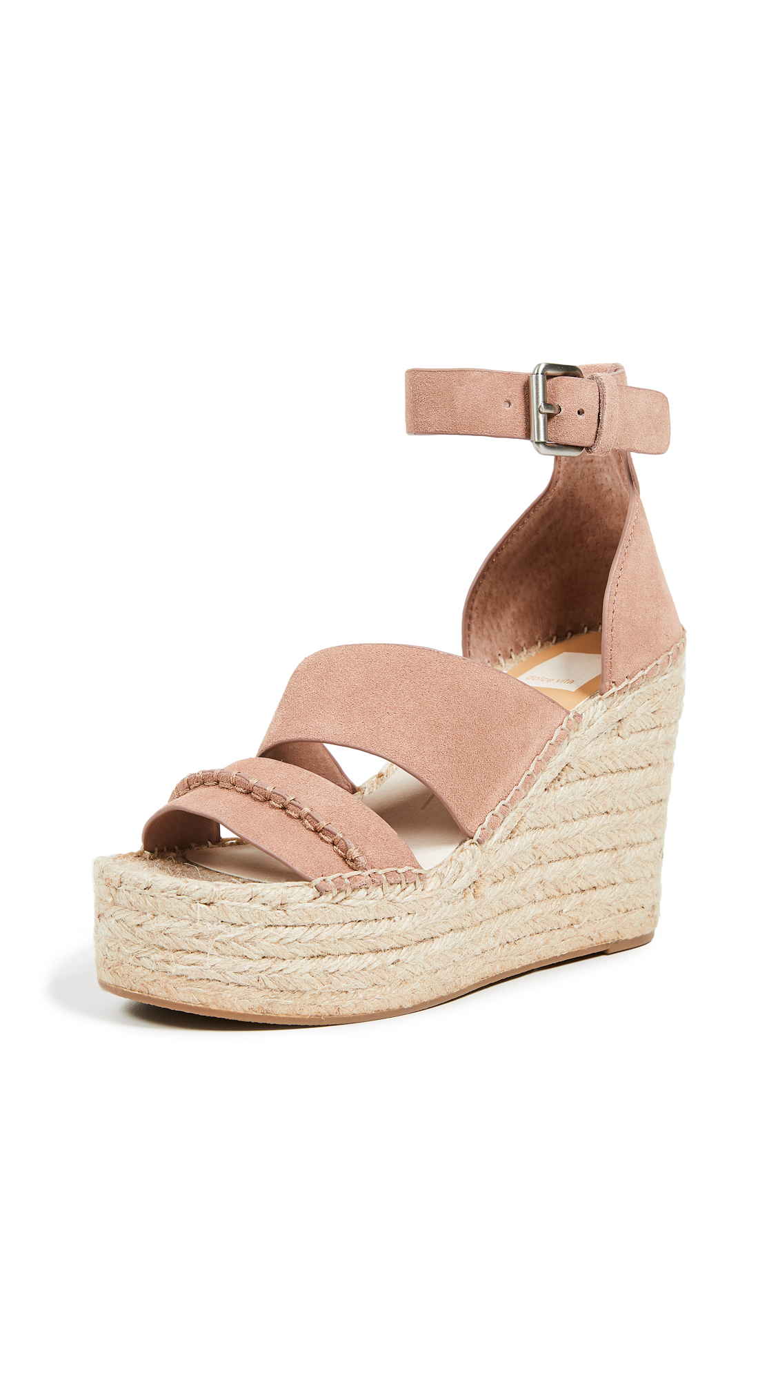 Dolce Vita Simi Espadrille Wedges - Clay