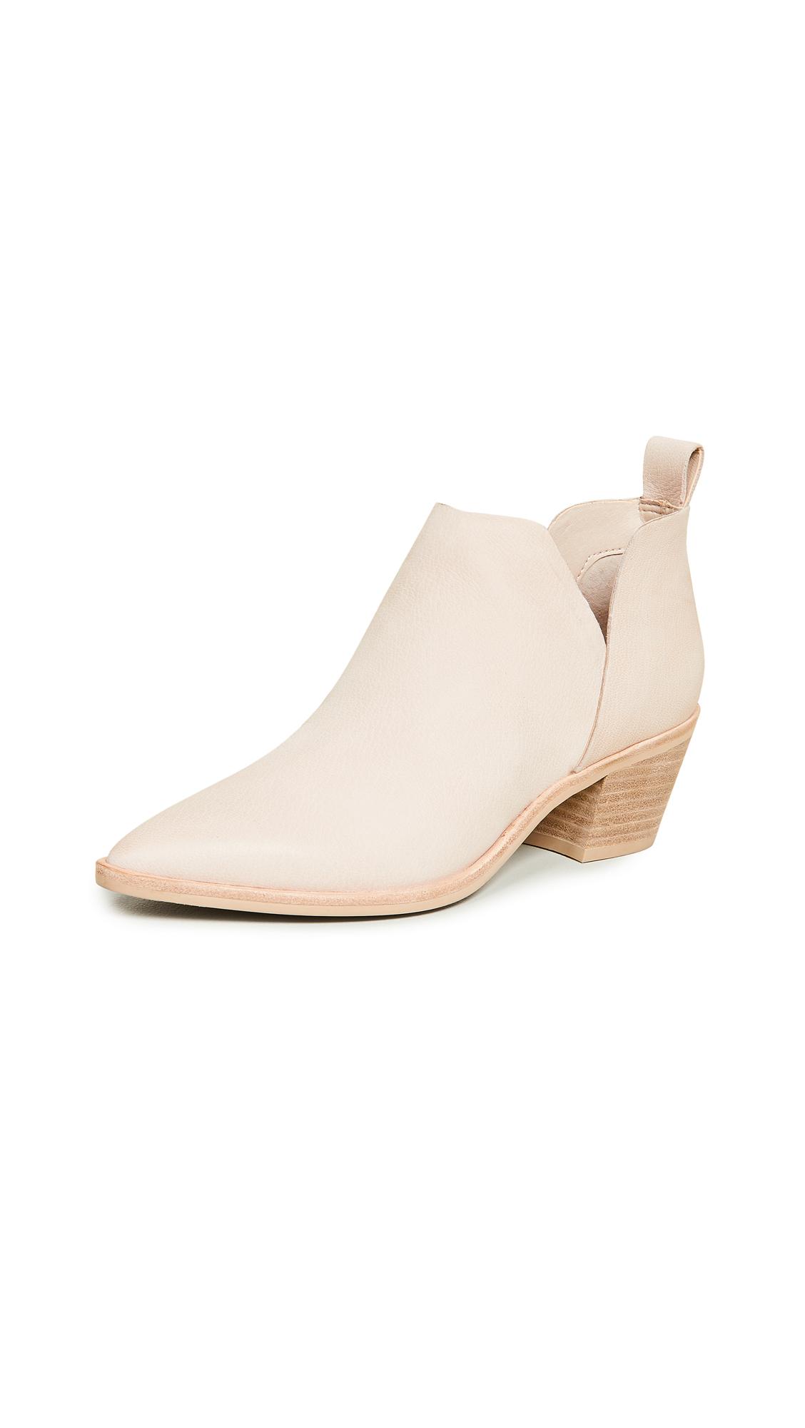 Dolce Vita Sonni Block Heel Booties - Sand