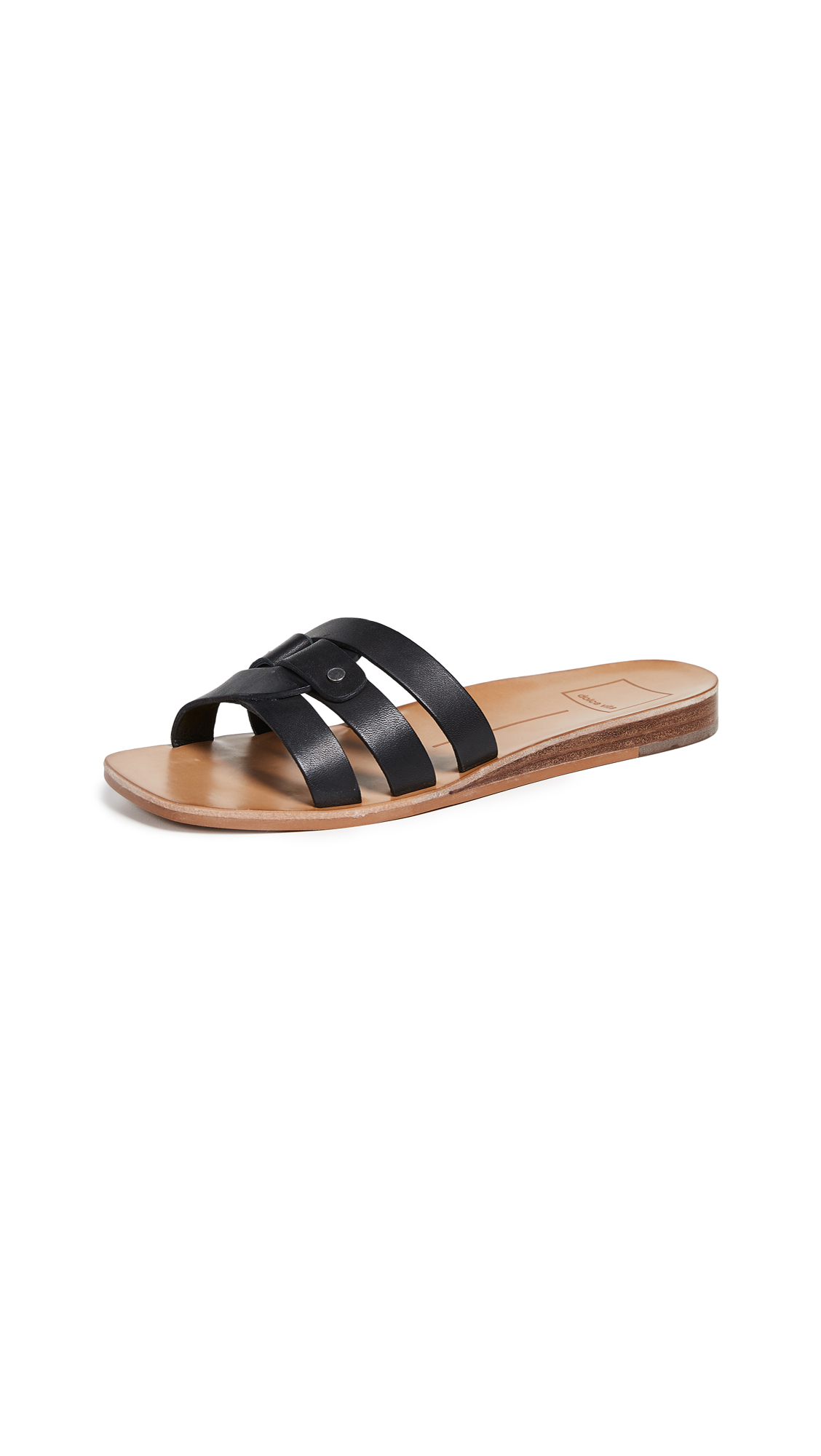 Dolce Vita Cait Slides - Black