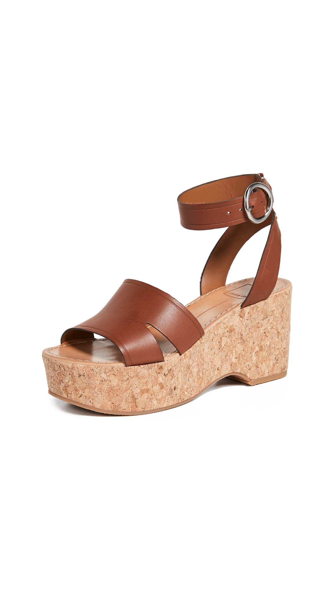 Dolce Vita Linda Ankle Strap Sandals - Brown