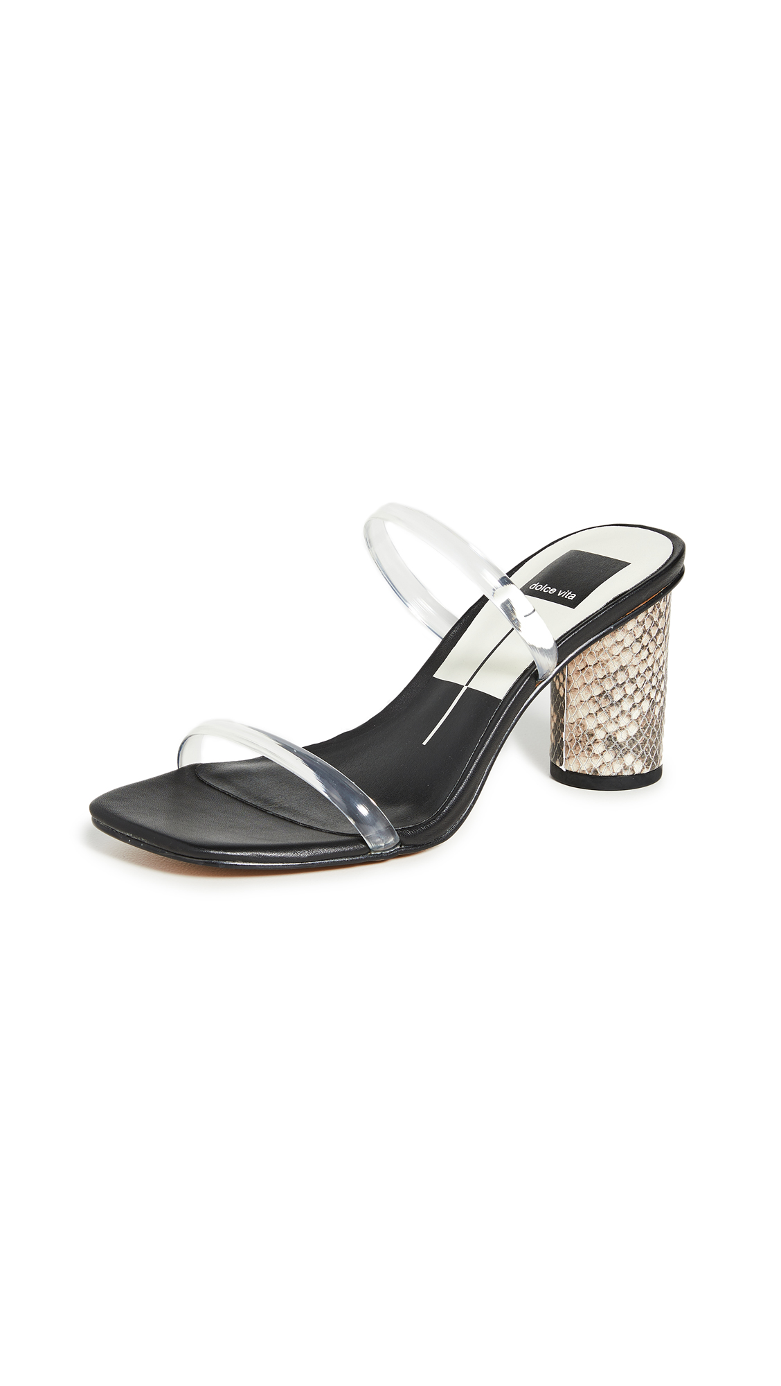 Dolce Vita Noles Vinyl Slide Sandals – 50% Off Sale