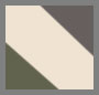 Army/Charcoal Grey/Creme