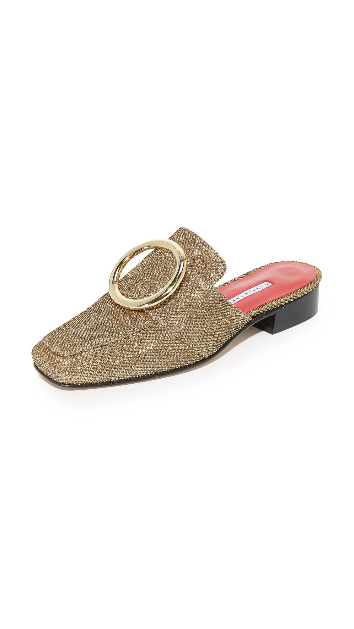 Dorateymur Petrol Slides - Gold at Shopbop