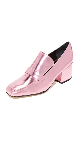 Dorateymur Turbojet Loafers - Pink Metallic