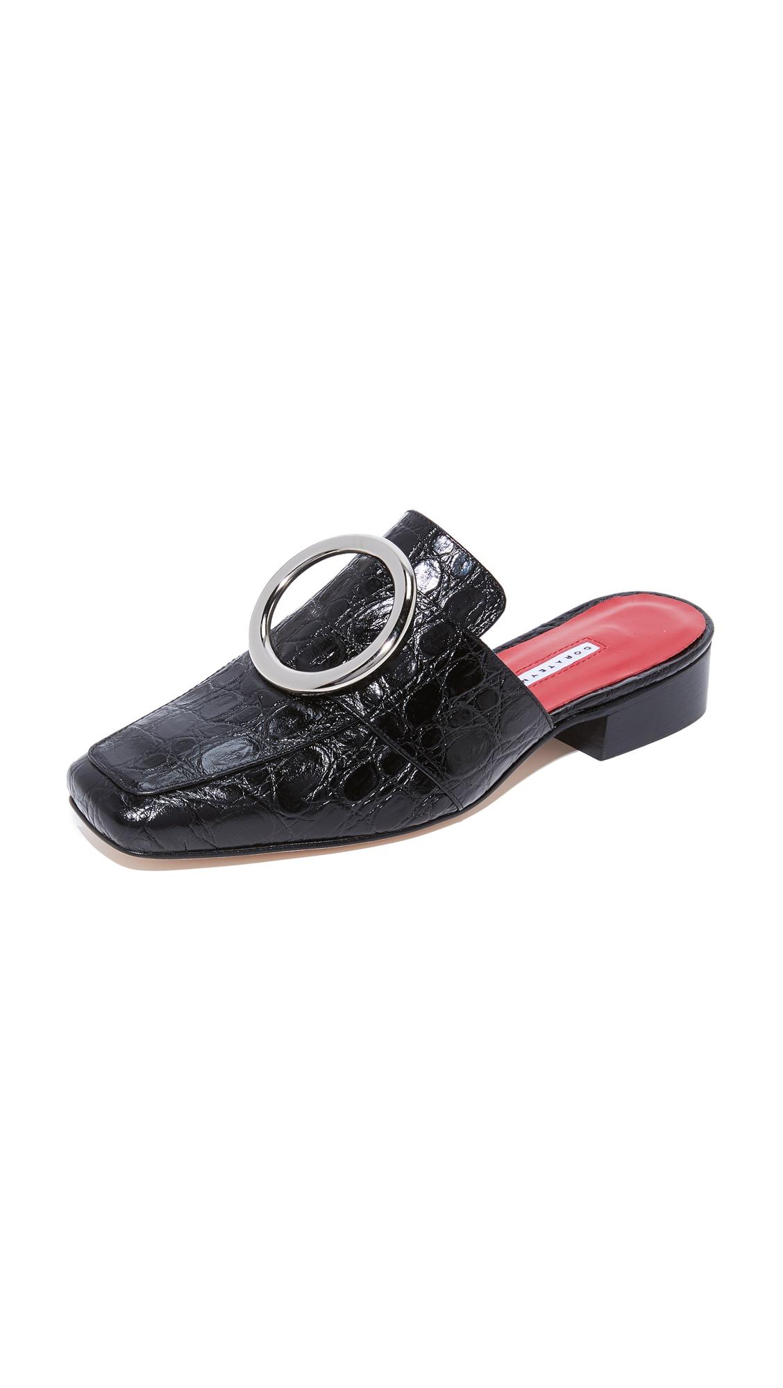 Dorateymur Petrol Mules - Black at Shopbop