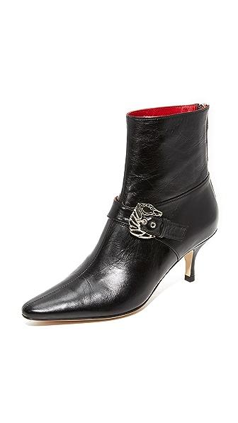 Dorateymur Saloon Booties In Black