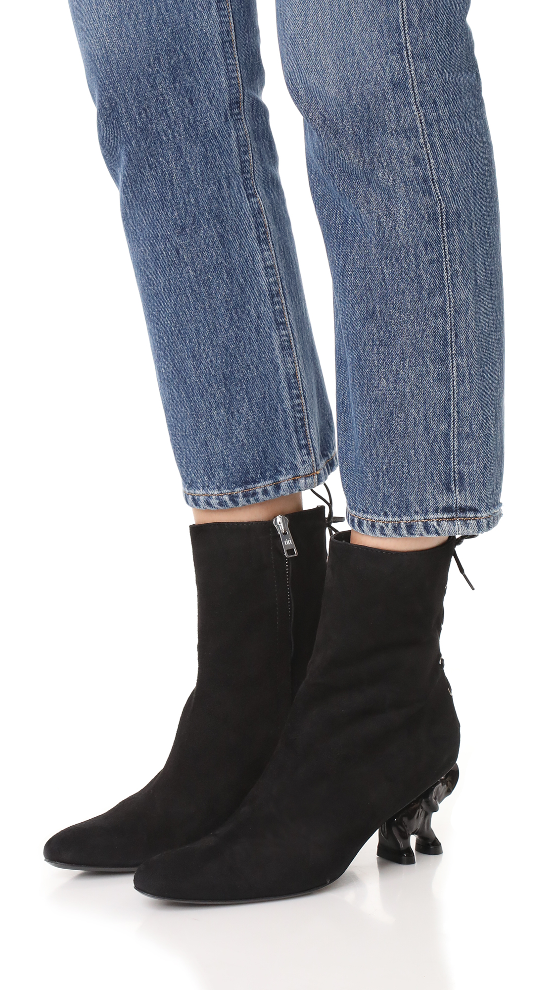 DORATEYMUR Elephant heel boots de054sEFgs