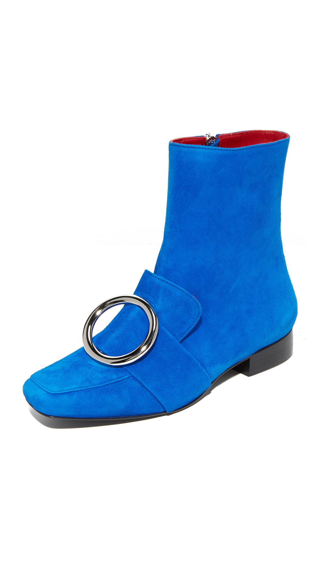 Dorateymur Biturbo Buckle Booties - Blue