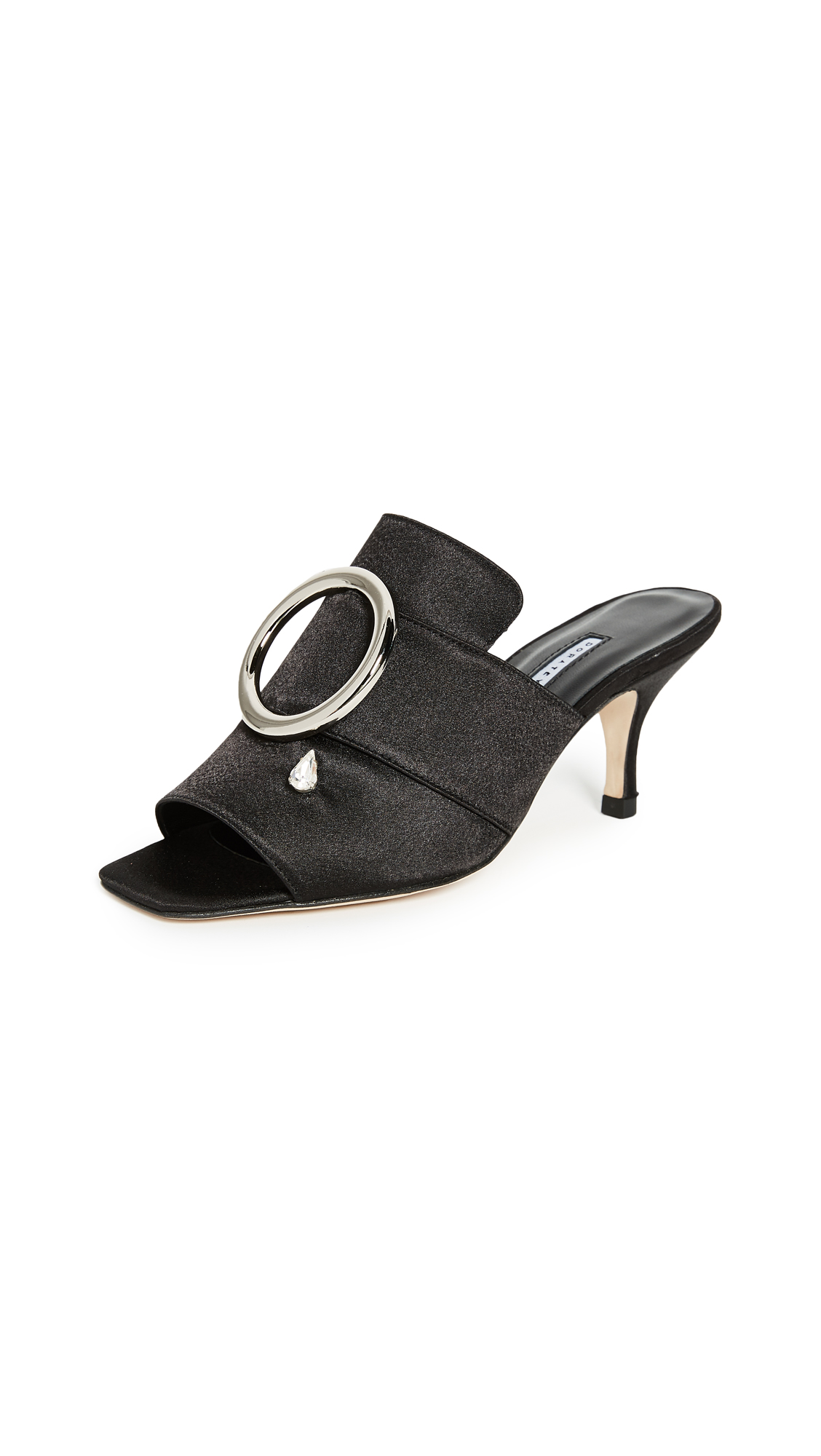 Dorateymur Galaxy Mules - Black