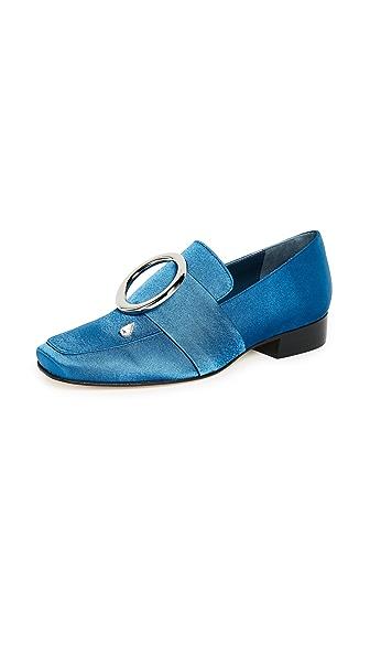 Dorateymur Harput Cocktail Loafers In Blue