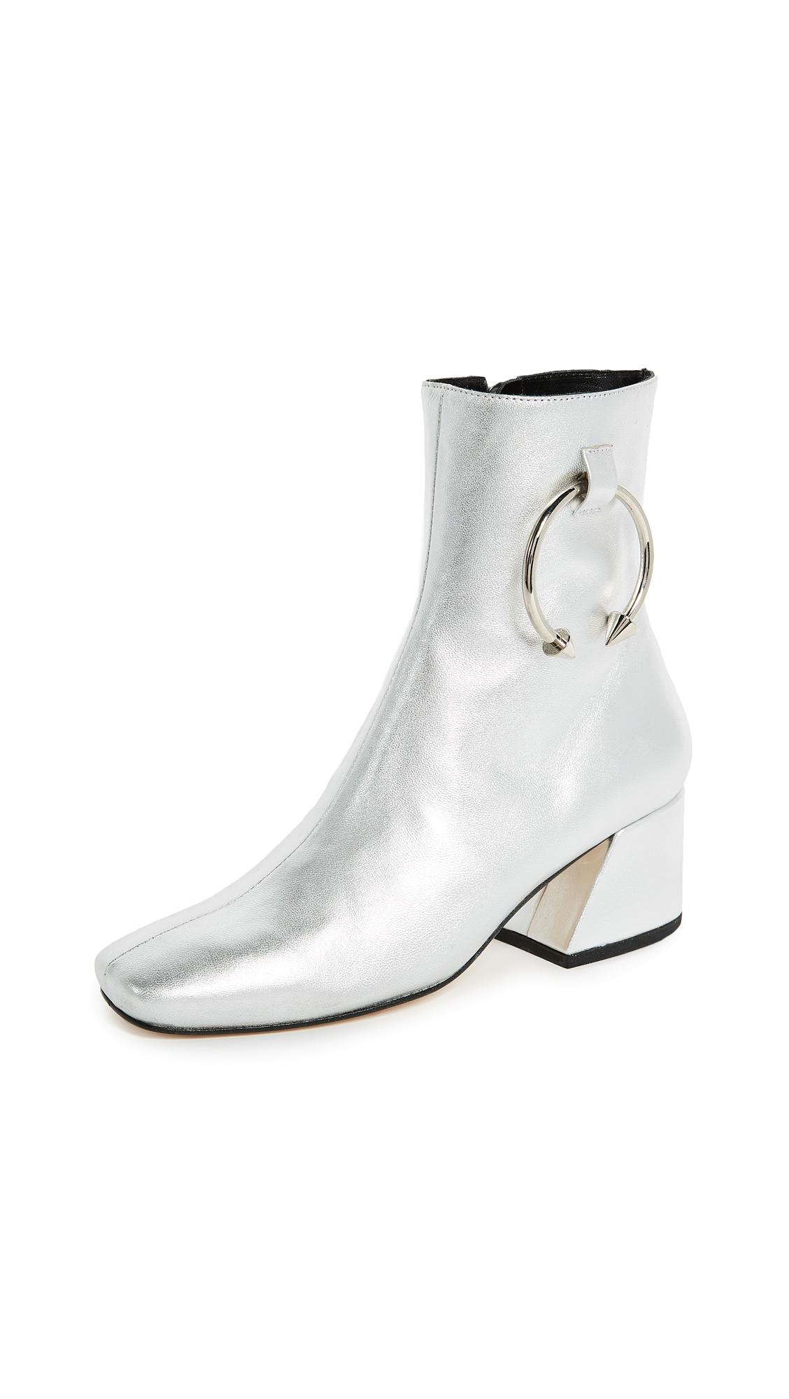 Dorateymur Nizip II Booties - Silver