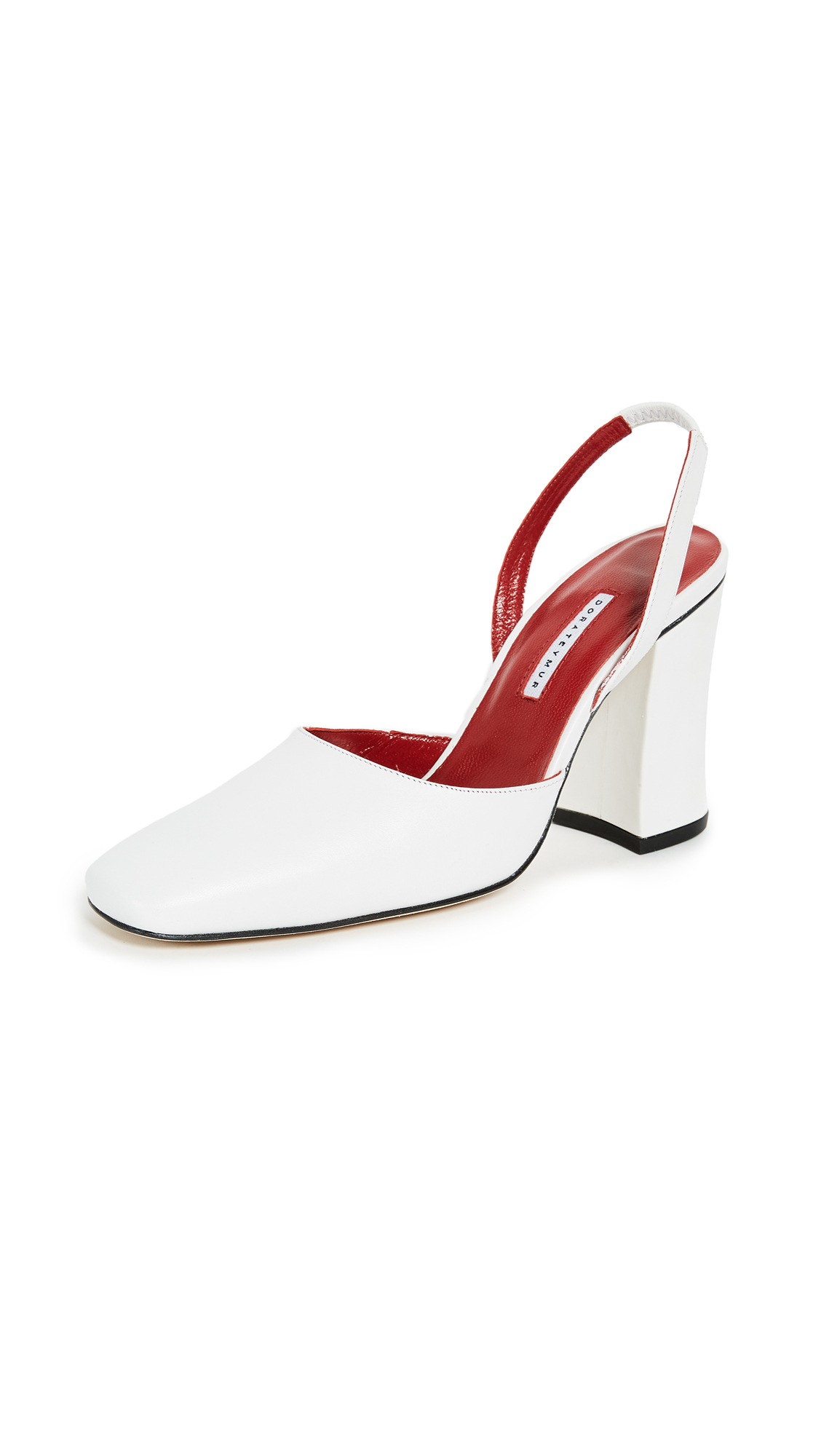 Dorateymur Resort Sling Pumps - White