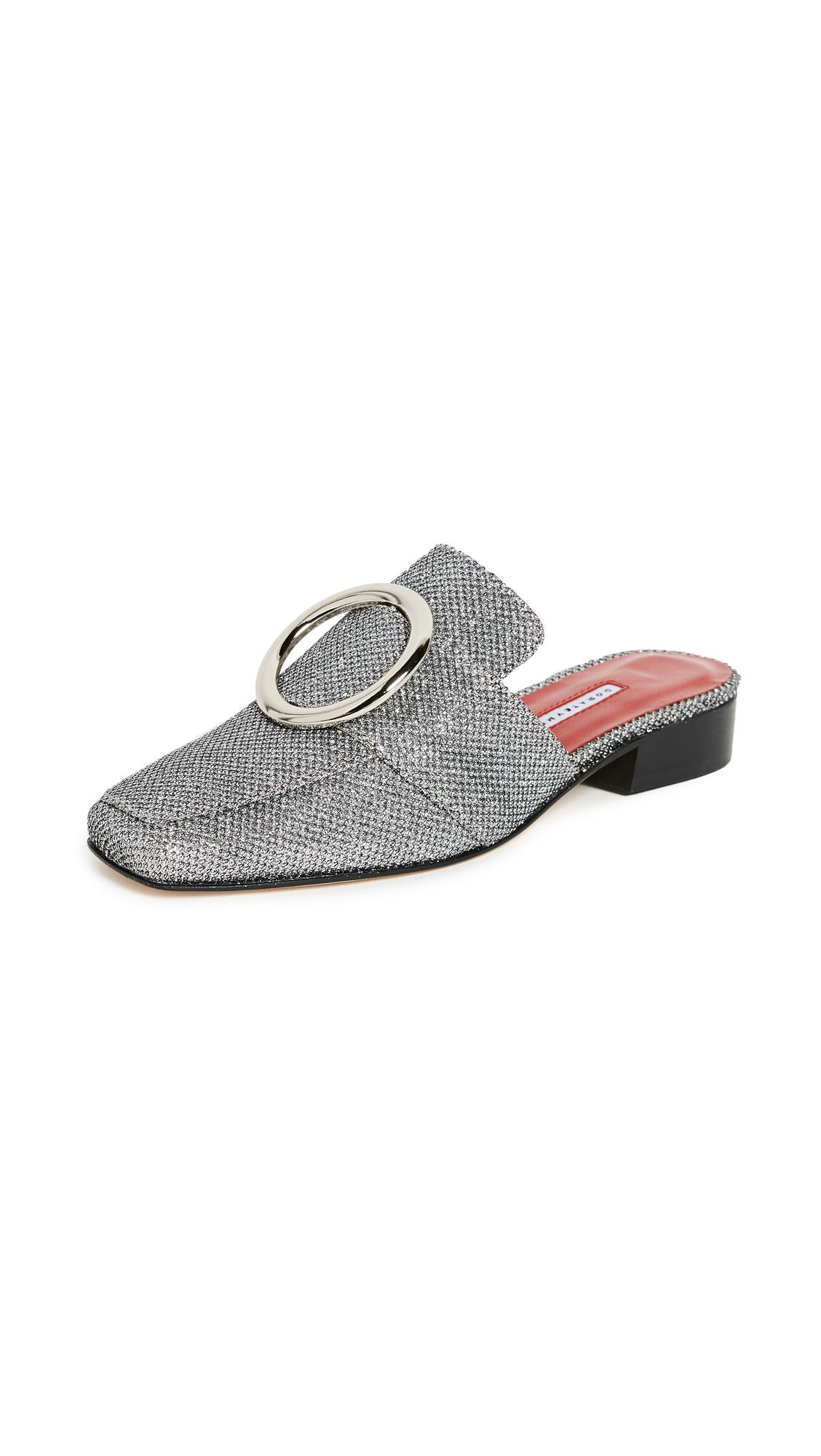 Dorateymur Petrol Slides - Silver