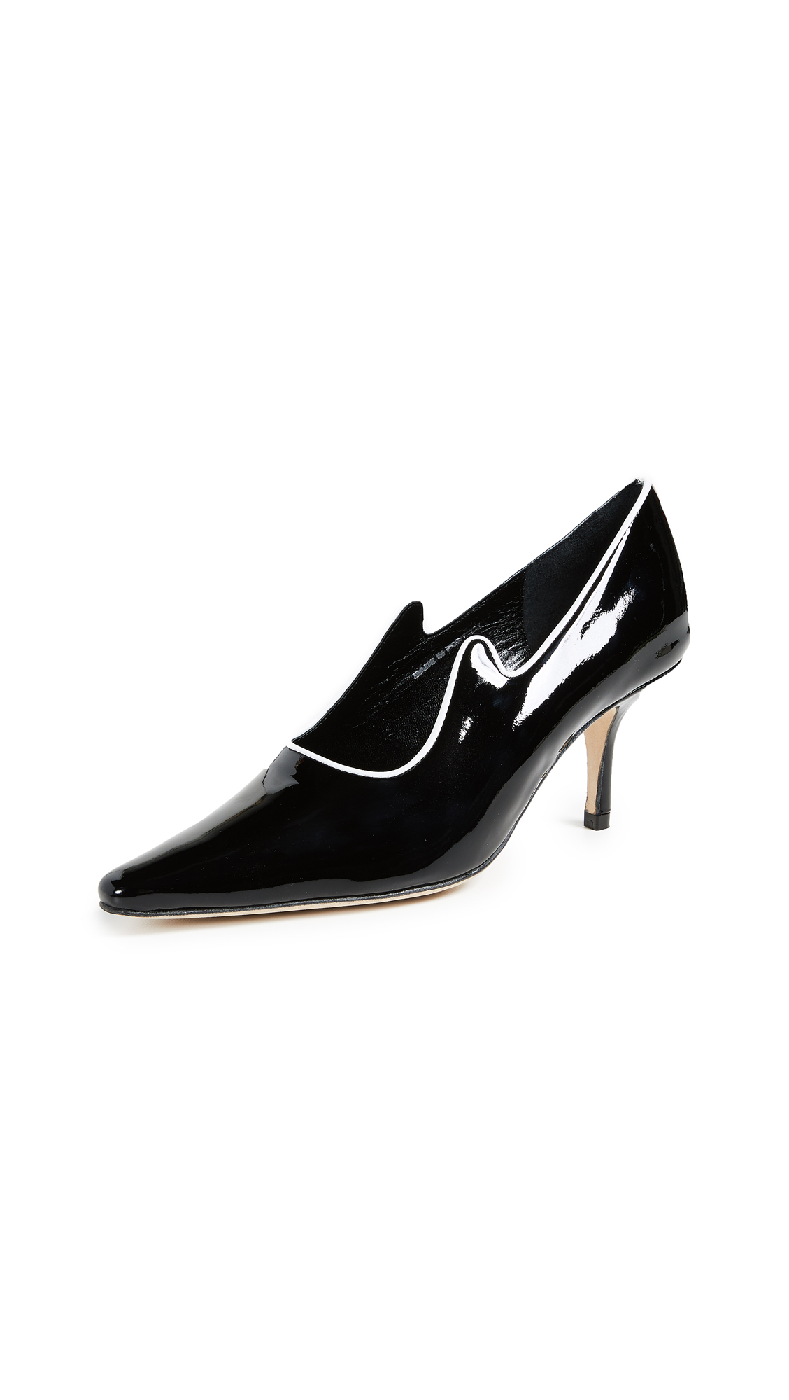 Dorateymur Groupie Jazz Pumps - Black/White