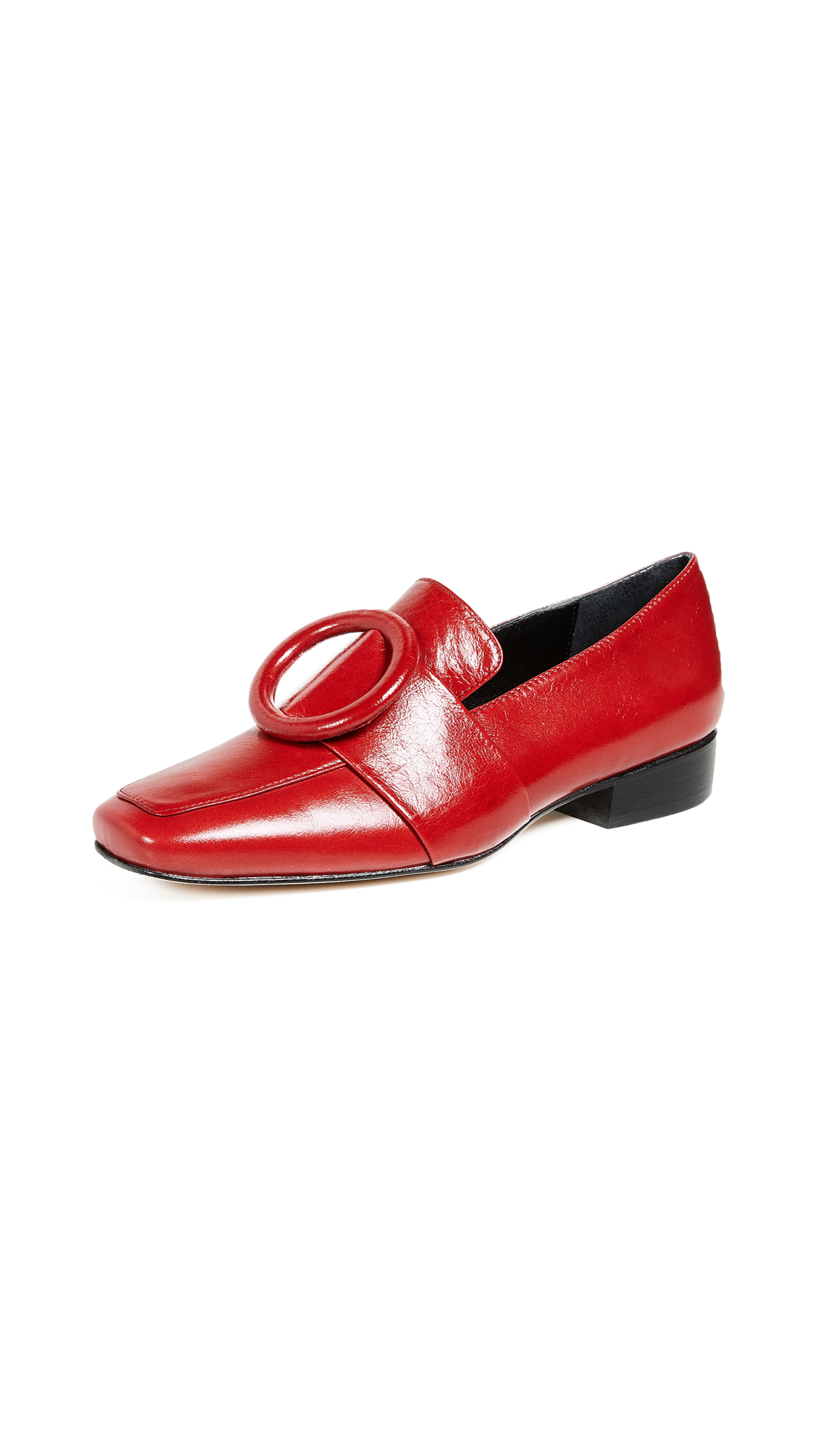 Dorateymur Harput Shadow Loafers - Red/Red