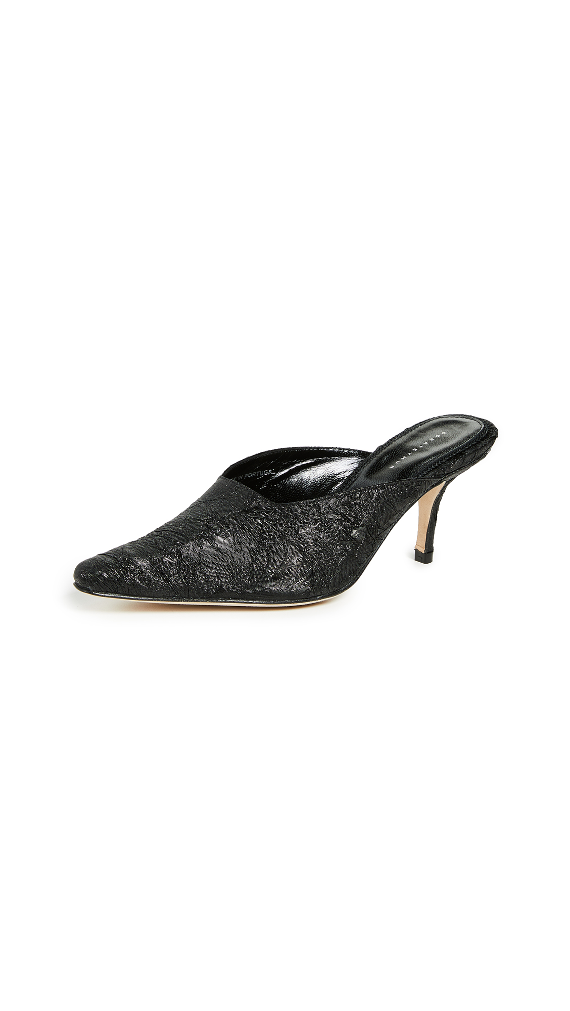 Dorateymur Groupie Mules - Black