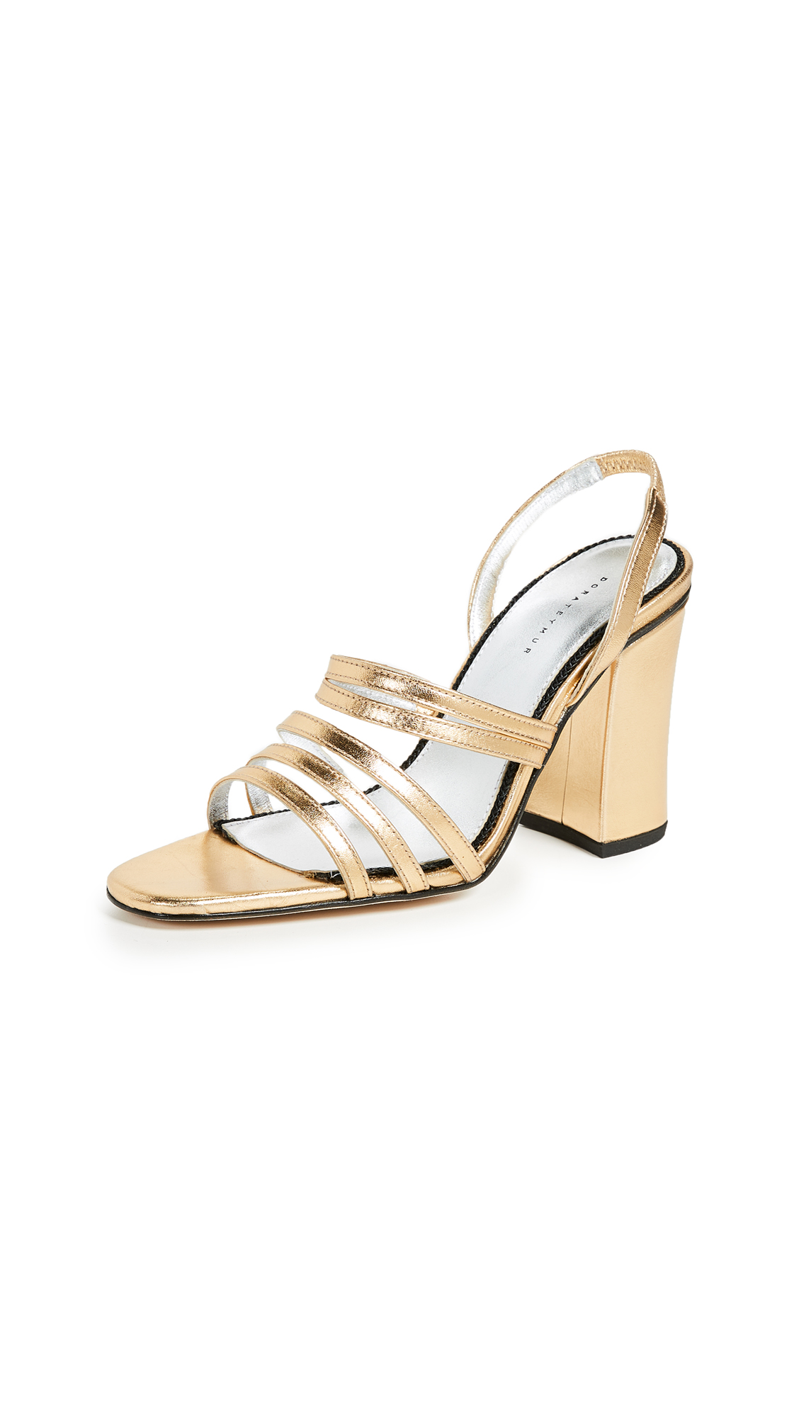 Dorateymur Integra Sandals - Gold
