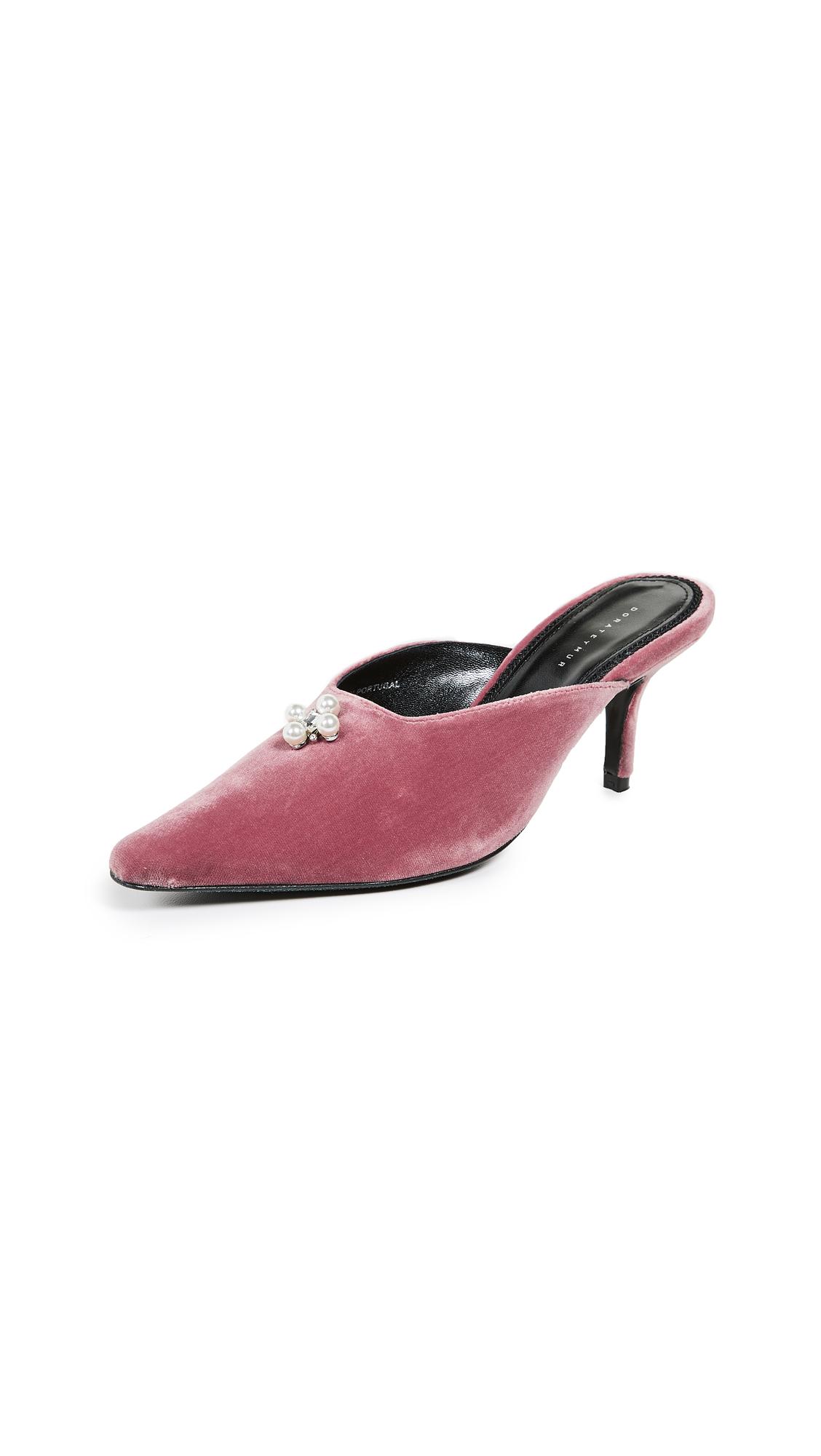 Dorateymur Groupie Ballroom Mules - Pink
