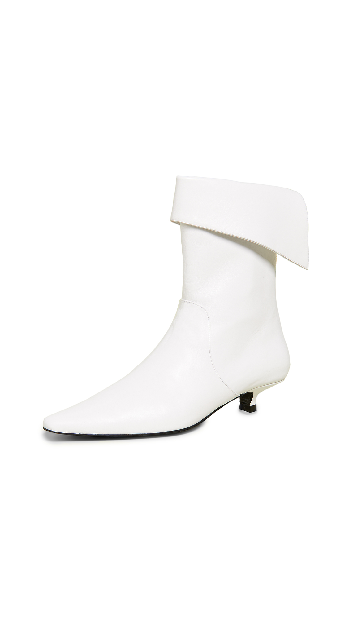 Dorateymur Crucified Ankle Boots - White