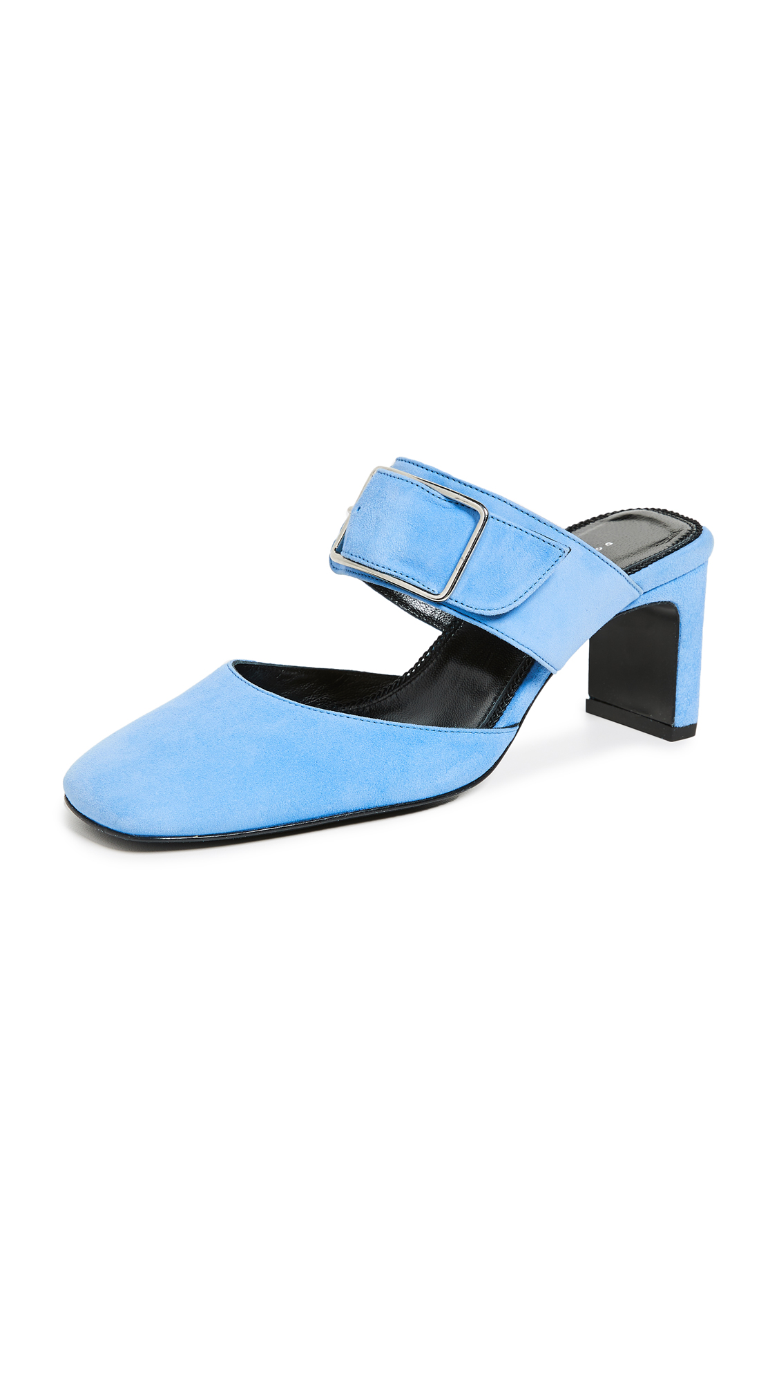 Dorateymur Everyday Mules - Salvia Blue