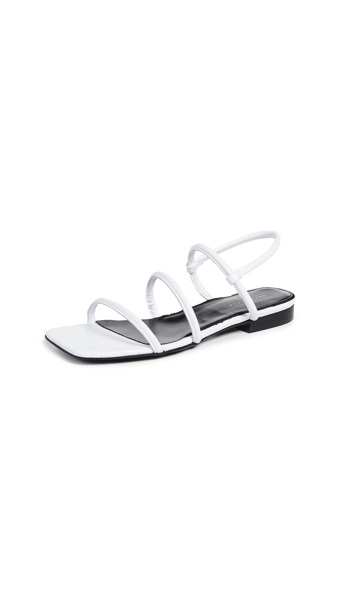 Dorateymur Easy Flat Sandals - White