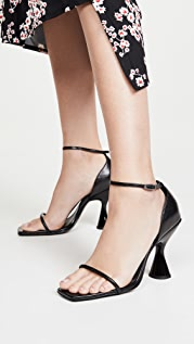 Dorateymur Stainless Ankle Strap Sandals