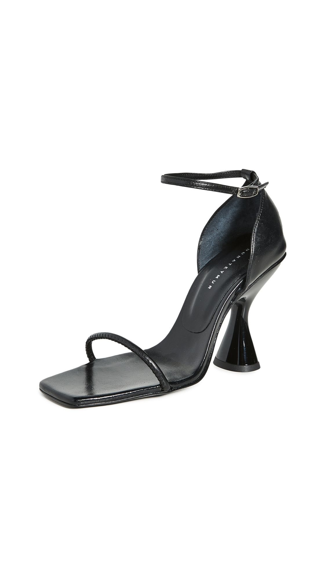 Dorateymur Stainless Ankle Strap Sandals - 50% Off Sale