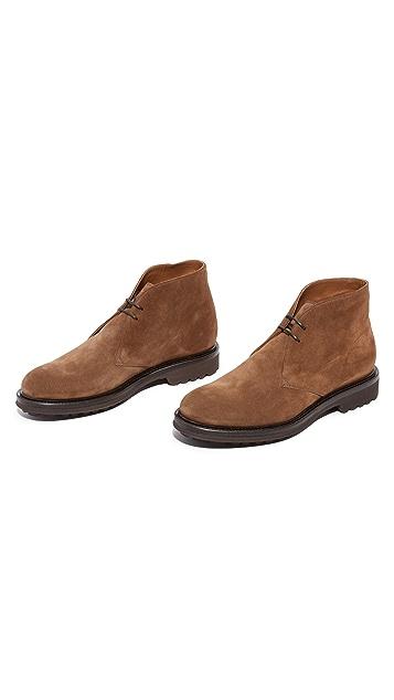 Doucal's Savino Suede Chukka Boots