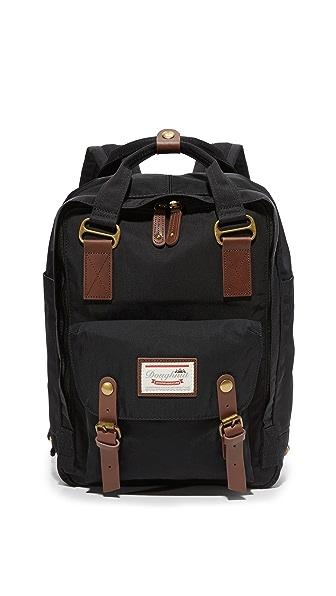Doughnut Macaroon Backpack - Black