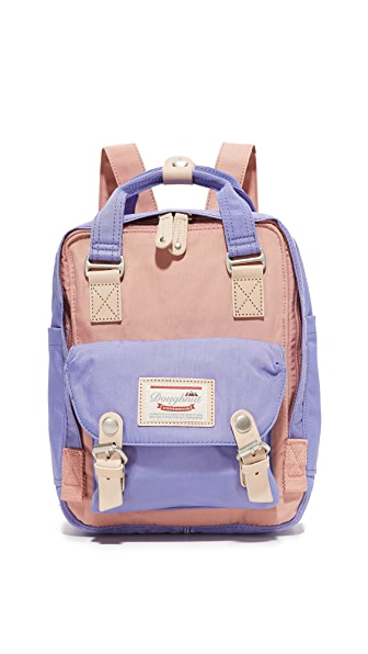 Doughnut Mini Macaroon Backpack - Rose/Taro