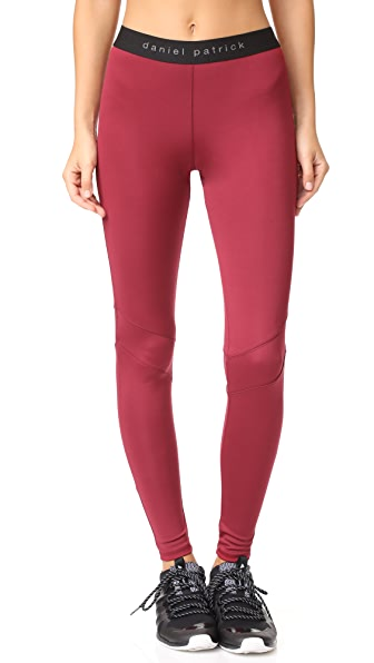 Daniel Patrick Trail Leggings - Scarlet