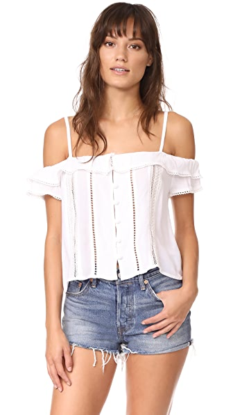dRA Oleander Top - Coconut