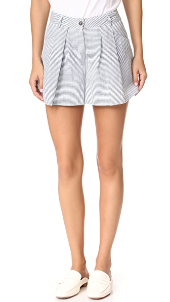 dRA Calla Shorts In Sea Stripe