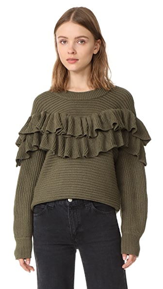 dRA Merriam Sweater - Olive