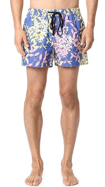 Double Rainbouu Cherry Pop Swim Shorts