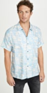 Double Rainbouu Paradise City Print Hawaiian Shirt