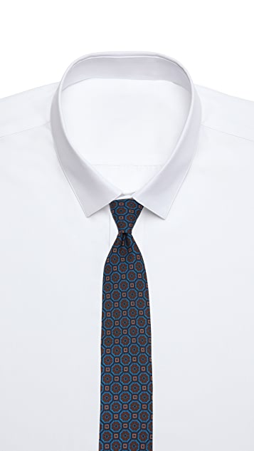 Drake's Patterned Tie