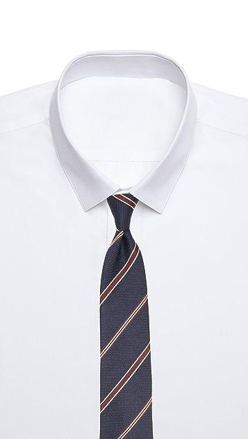 Drake's Stripes Tie