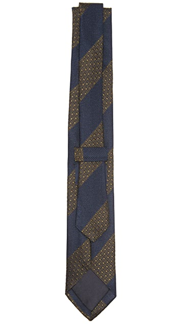 Drake's Striped Tie