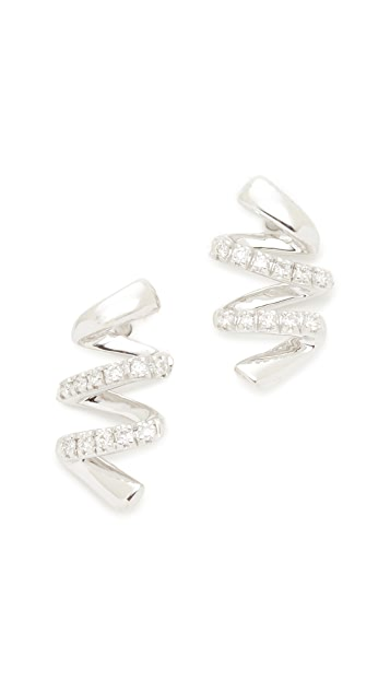 Dana Rebecca 14k White Gold Carly Brooke Earrings