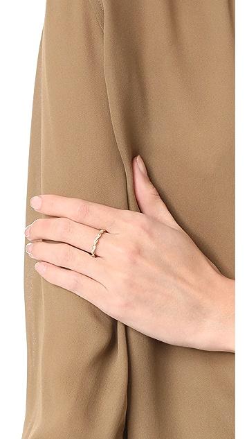 Dana Rebecca Carly Brooke Twisted Ring