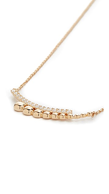 Dana Rebecca 14k Gold Poppy Rae Layered Necklace