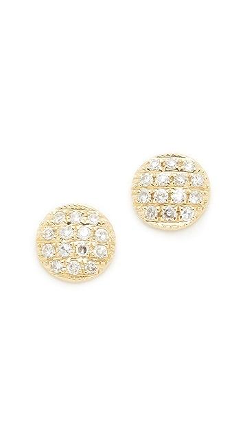 Dana Rebecca 14k Gold Lauren Joy Stud Earrings