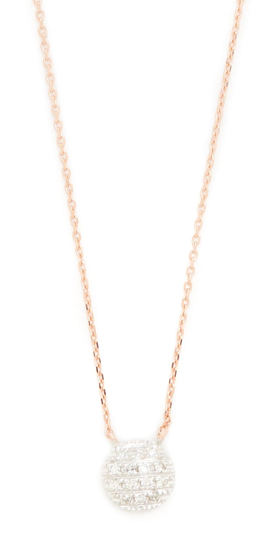 14k Rose Gold Lauren Joy Mini Necklace Dana Rebecca