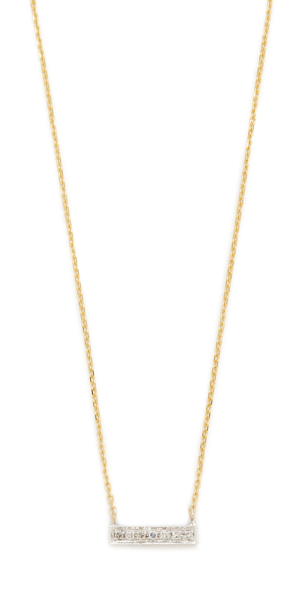 14k Gold Sylvie Rose Bar Necklace Dana Rebecca