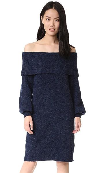 Designers Remix Платье-свитер Sierra с открытыми плечами